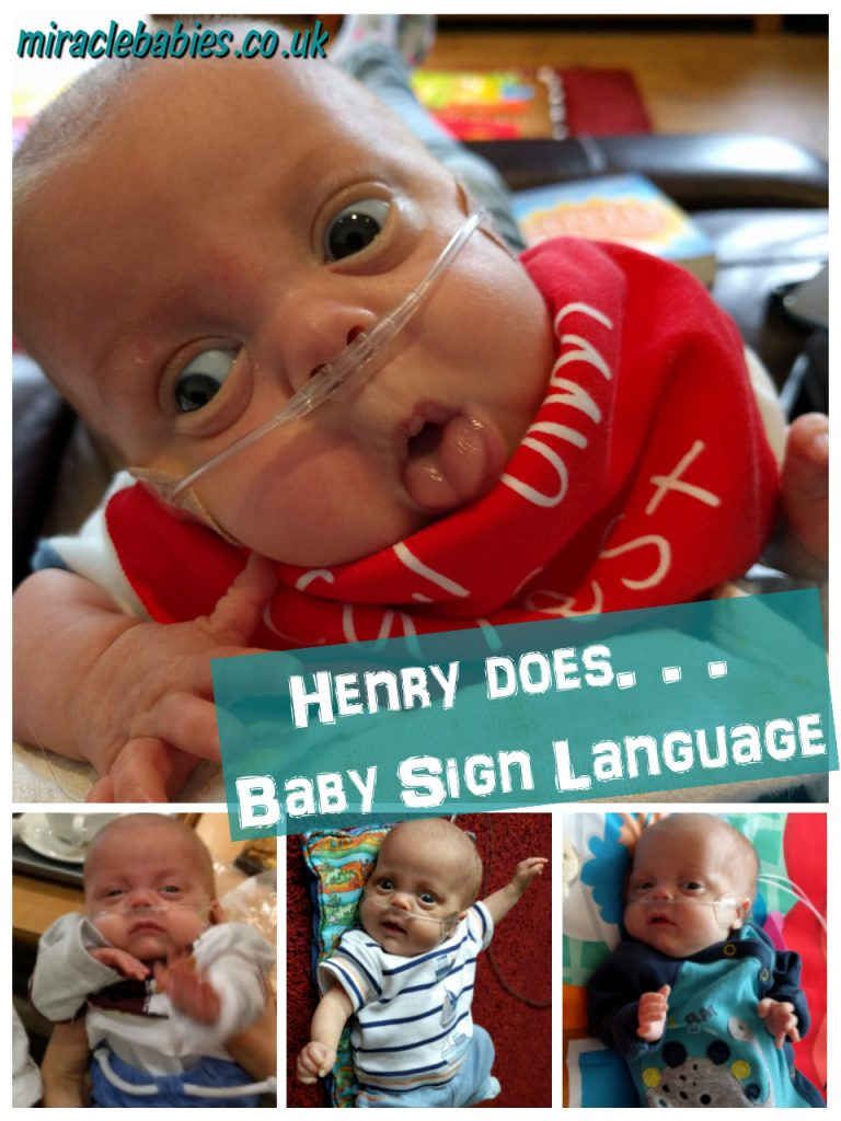 Henry does... Baby Sign Language (British - BSL)