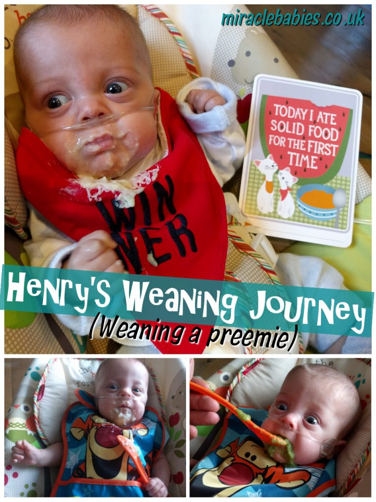 Henry's Weaning Journey (weaning a preemie)