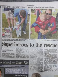 Superheroes to the rescue