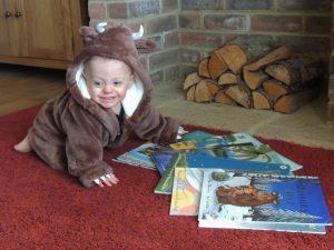 Henry as The Gruffalo