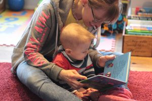 Reading to Henry
