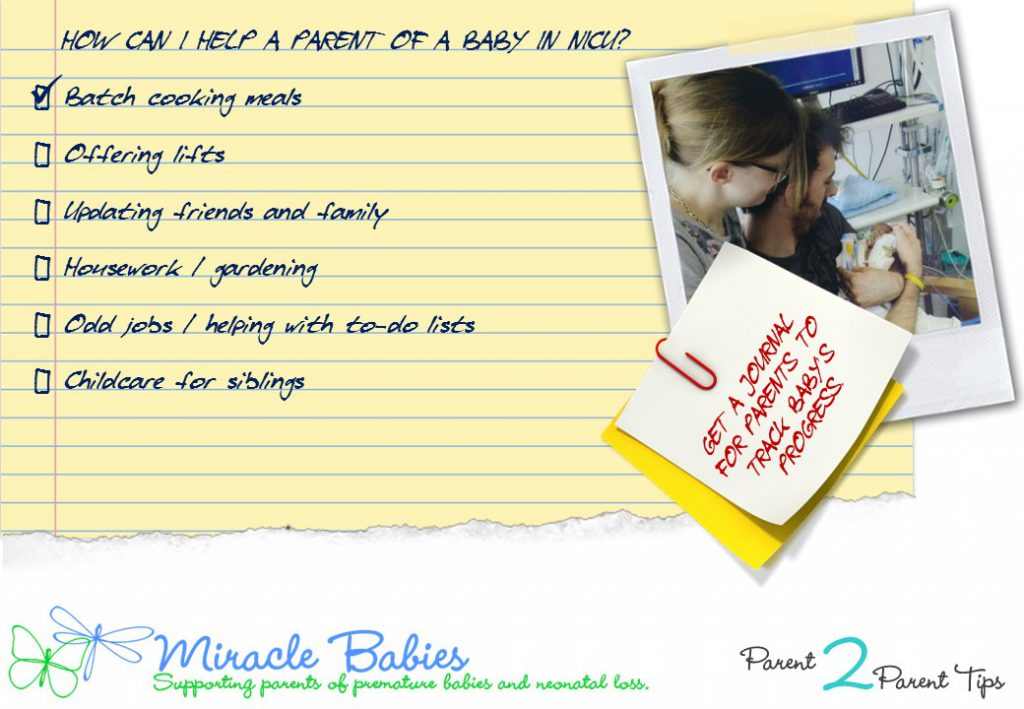 Helping a NICU Parent