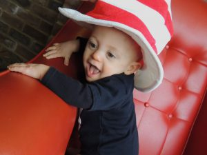 Henry as The Cat in the Hat