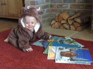Henry as The Gruffalo